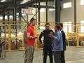 俄罗si客hu到我公司参guan考察电ban热、电地暖生产线