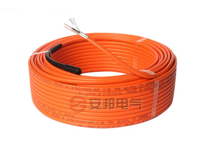 屏bi型shuang导发热电缆